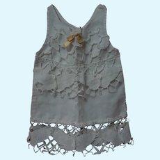 "Antique Linen Underwear Slip for 18-20"" French Bebe doll"
