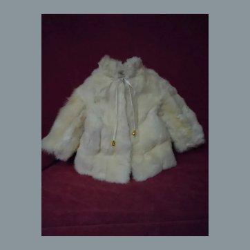 Vintage Coat for french Bebe Jumeau Steiner Bru Eden antique doll