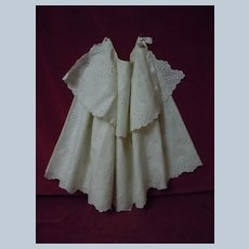 Wonderful Pure Linen Cape Cotton Lined Mid Century Period