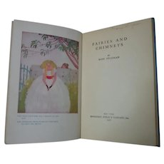 Fairies and Chimneys by Rose Fyleman 1938 Hardcover Poetry Book