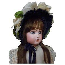Charming Hat for Antique French Bebe Huge Doll