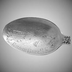 Gorham Sterling Silver Golden Gate San Francisco CA Souvenir Spoon