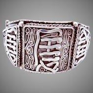 Vintage Italian 800 Silver Figli di Vittorio Franconeri Florence Bracelet