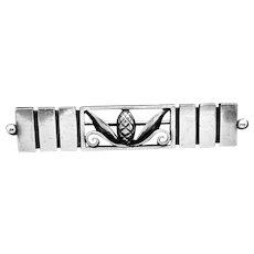 Vintage Georg Jensen Danish Denmark Sterling Silver Acorn #216A Pin