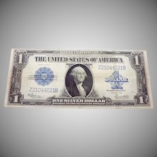 1923 $1 Dollar Large Size Silver Certificate 24079