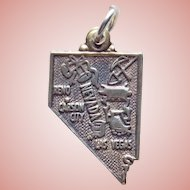 Sterling Nevada Signed Maisels Vintage Charm - Travel Souvenir
