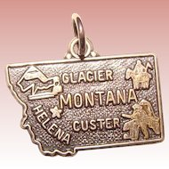 Awesome MONTANA Sterling Vintage Charm