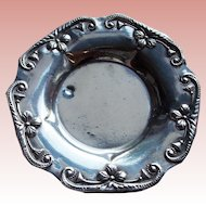 Gorgeous 800 Silver Vintage Dish or Pin Tray