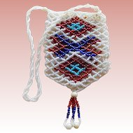 Vintage Mini Beaded Purse - As Found
