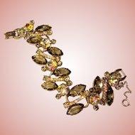 Fabulous D&E JULIANA Smoke & Aurora Rhinestone Bracelet