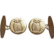 Awesome OWL Vintage Cufflinks