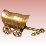Awesome Sterling COVERED WAGON Vintage Charm