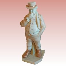 Royal Worcester JOHN BULL Antique Figure Figurine - Signed Hadley - Countries of the World