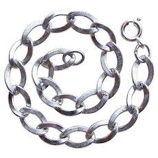 Awesome Sterling Charm Starter Vintage Bracelet