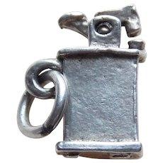 Sterling Cigarette Lighter Mechanical Vintage Charm