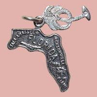 Sterling Florida Vintage Charm - State Souvenir