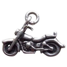 Sterling Motorcycle Vintage Charm