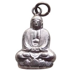 Sterling BUDDHA Vintage Estate Charm