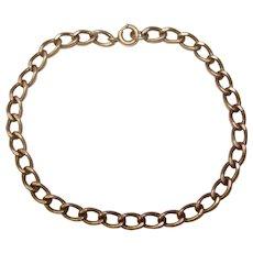 Vintage Sterling Charm Starter Bracelet