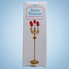 Doll House Fantasia Candelabra - 1960s Petite Princess Fantasy Furniture Ideal Original Box