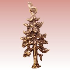 Awesome STERLING Majestic Tree Vintage Charm