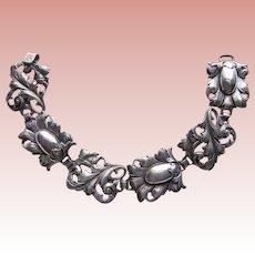 Fabulous CINI STERLING Signed Vintage Bracelet
