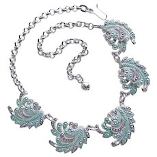Gorgeous ELOXAL ALUMINUM Vintage Necklace - Germany