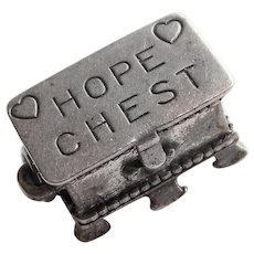 Beau Sterling HOPE CHEST Vintage Charm - Mechanical Movable