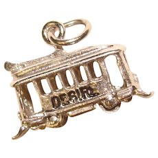 Awesome STREETCAR Named Desire Vintage Sterling Charm