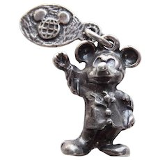 Sterling MICKEY MOUSE Disney Vintage Estate Charm