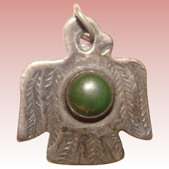 Awesome Sterling Thunderbird Bird Vintage Charm
