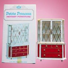 Doll House Treasure Trove Cabinet - 1960s Petite Princess Fantasy Furniture Ideal Original Box
