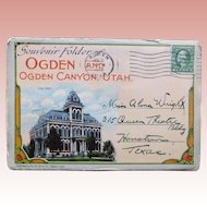 1920s OGDEN Postcard Folder - Souvenir of Utah