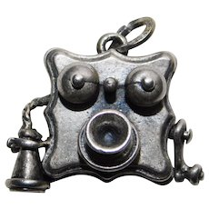 Mechanical BEAU STERLING Crank Telephone Phone Vintage Charm - Movable Handle