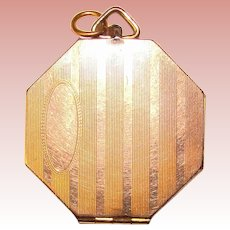 Fabulous Octagon Shaped Vintage LOCKET