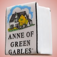Birchcroft BOOK SHAPED Vintage Estate Thimble - Anne of Green Gables