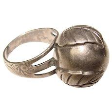 Fabulous STERLING Southwest Design Vintage Ring