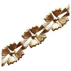 Gorgeous TRIFARI Goldtone Vintage Bracelet