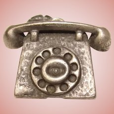 Awesome Sterling DANECRAFT Telephone Vintage Charm