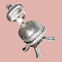Sterling SWIVEL CHAIR Mechanical Vintage Charm - Movable Office Chair - Signed Beau