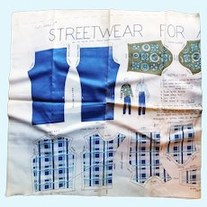 "Vintage Cloth Pattern for 11"" to 12"" Boy Dolls Street Wear- Uncut"