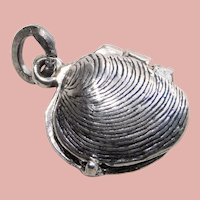 Sterling Mechanical OYSTER Beau Vintage Charm - Movable