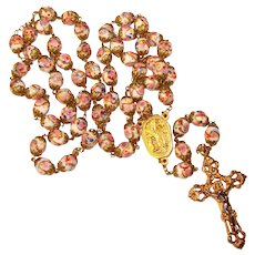 Fabulous VENETIAN Murano Glass Vintage Rosary