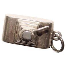 Sterling CAMERA Design Vintage Charm