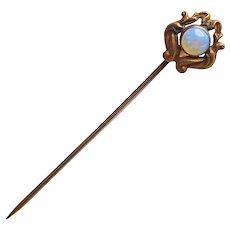 Gorgeous Antique OPAL Stickpin