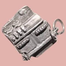 Sterling OVEN STOVE Mechanical Movable Vintage Charm