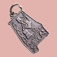 Sterling ALABAMA Vintage Charm - Bell Trading Post - State Souvenir