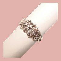 Awesome STERLING Modernist Design Vintage Ring