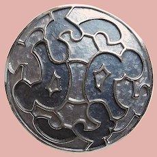 Gorgeous Grays KRAMER Signed Vintage Brooch