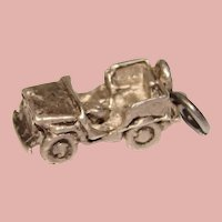 Awesome Sterling JEEP Vintage Charm